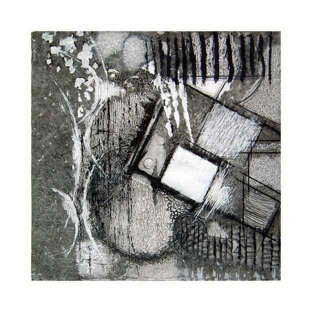 'Mars Approach No. 3', 2004/5, (from a series of 9), 76 x 76 cm