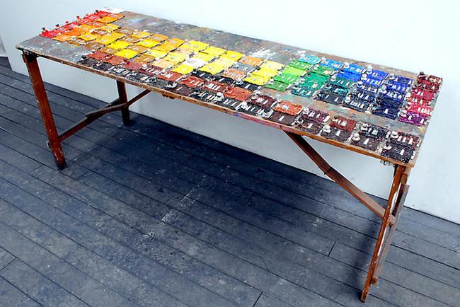 'Periodic Table', 2010, 80 x 182 x 63 cm