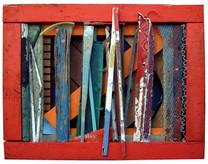 David Redfern (b.1947) 'DE-SH3-490075 HT DB S' 2007, 52 x 64.5 x 16 cm  Contact for Price