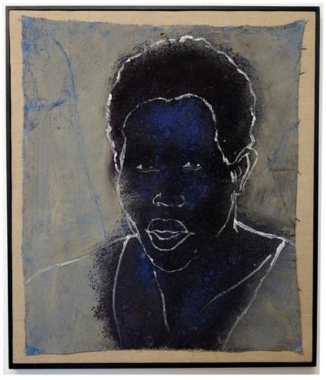 Tam Joseph (b.1947) 'Diamond Princess', 95 x 80 cm
