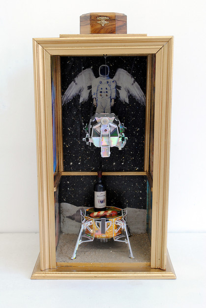 David Redfern (b.1947) 'Aldrin's Altar' made in 2015, 57.5 x 32.5 x 24 cm