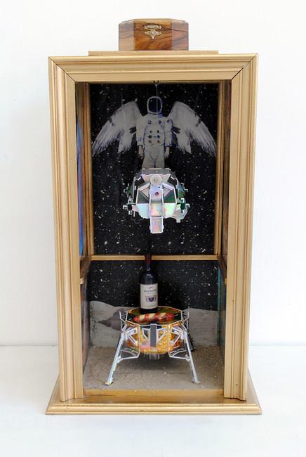 'Aldrin's Altar', 2015, 57.5 x 32.5 x 24 cm