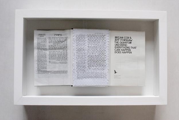 David Redfern (b.1947) 'God & Cox' made in 2012, 38 x 61.5 x 10.5 cm