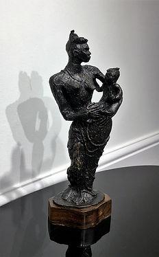 Leon Underwood (1890-1975), African Madonna