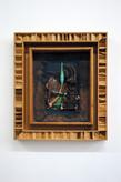 David Redfern (b.1947) 'Boutros Boutros-Ghali' 1996, 46.5 x 40.5 x 6 cm  Contact for Price