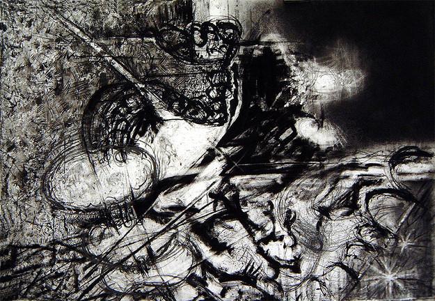 David Redfern (b.1947) 'Rubens Drawing No 1', 77 x 112cm