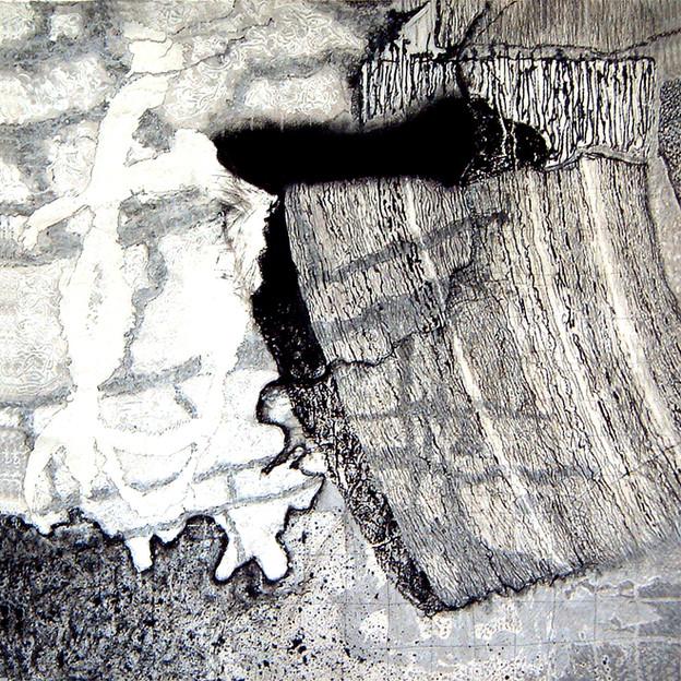 David Redfern (b.1947) 'Mars Approach No 9', 76 x 76cm