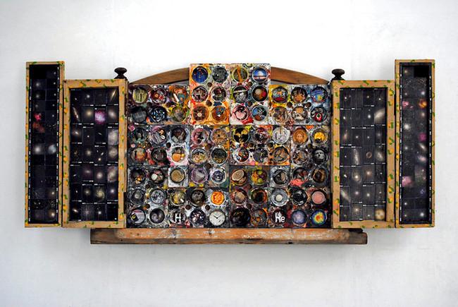 'Stuff', 2007, 67.5 x 150 x 14 cm