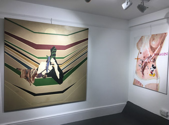 'Suzan Swale: Selected Works' Exhibition, 2019, Felix & Spear, London
