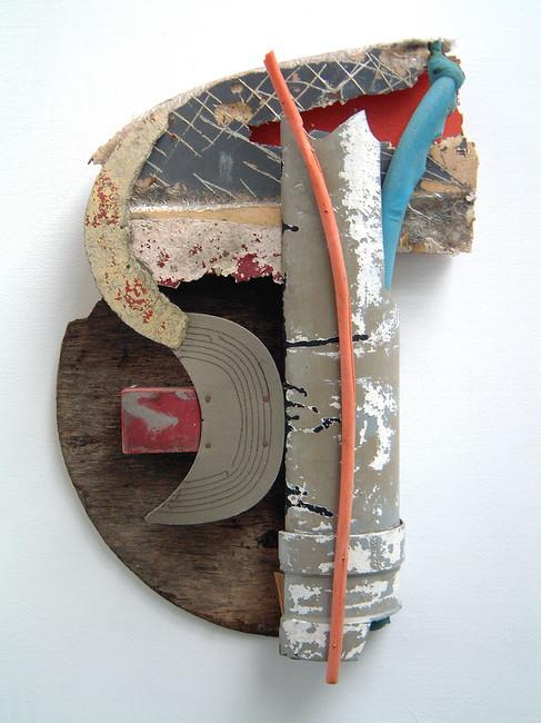 'Osma', 2001, 57 x 38 x 10 cm, found object assemblage