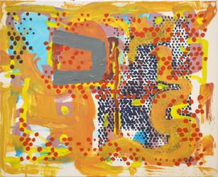 James Faure Walker (b.1948) 'The Lion' 2019, 66 x 81 cm, oil on canvas