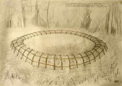 Rosie Leventon 'Ring' 2004, 90 x 120 cm