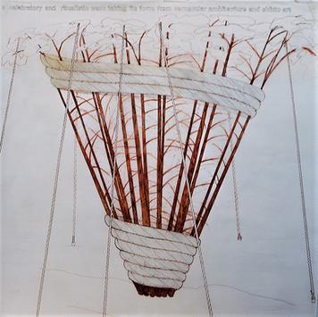 Rosie Leventon 'Funnel' 1999, 90 x 120 cm