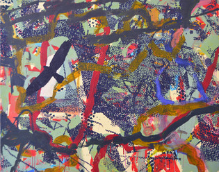 James Faure Walker (b.1948) 'Marsh Harrier' 2016, 137 x 173 cm, oil on canvas