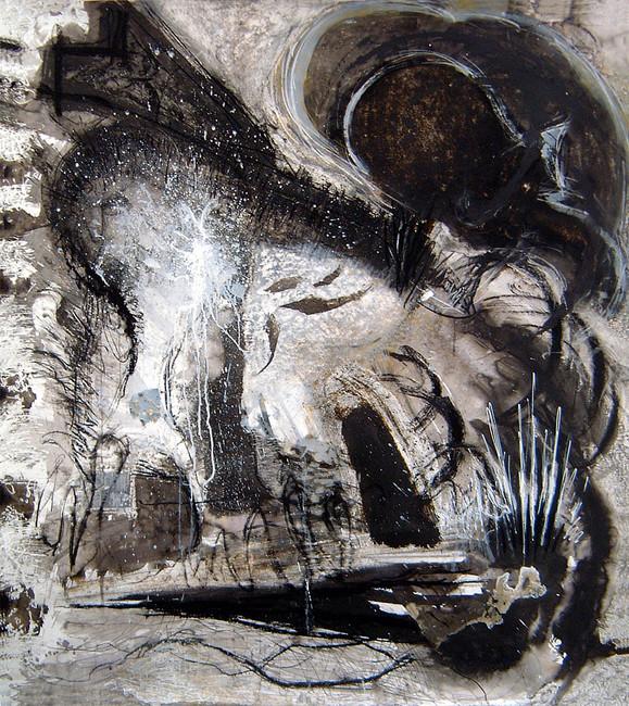 'Kandinsky Drawing No 6', 2006/7, 138 x 122 cm