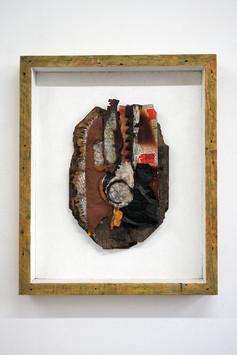 David Redfern (b.1947) 'Jardinage' 1995, 71 x 58.5 x 7 cm