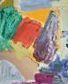 Alan Gouk (b.1939) 'Seed Pod' 1987, oil on board, 76 x 63 cm