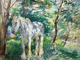Margaret Fisher Prout (1875-1963), The White Horse