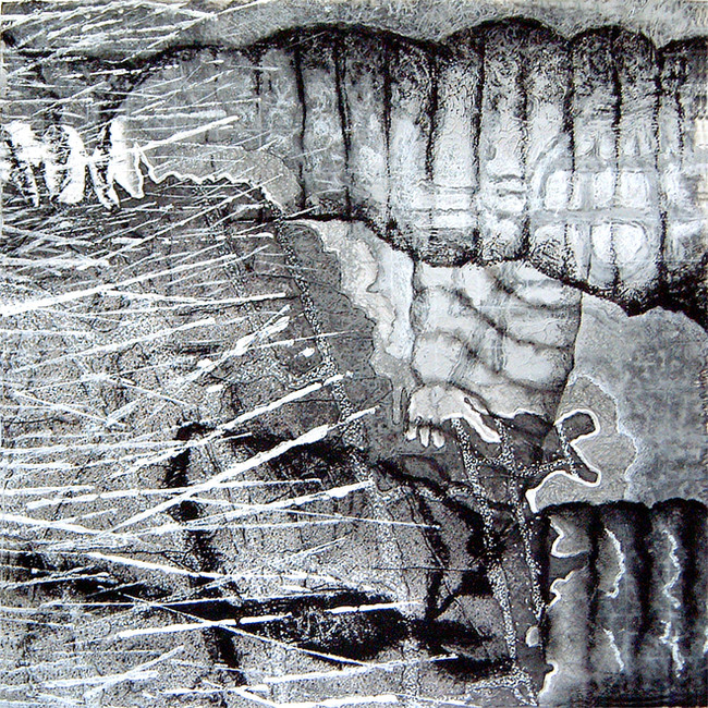 'Mars Approach No 7', 2004/5, 76 x 76 cm