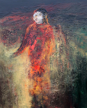 Richard Harrison (b.1954) 'Priestess' 2019, 137 x 112 cm