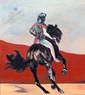 Richard Harrison (b.1954) 'Rider' 2019, 101 x 91 cm  Contact for Price