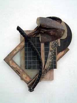 David Redfern (b.1947) '0006305775' 2003, 90 x 84 x 15 cm