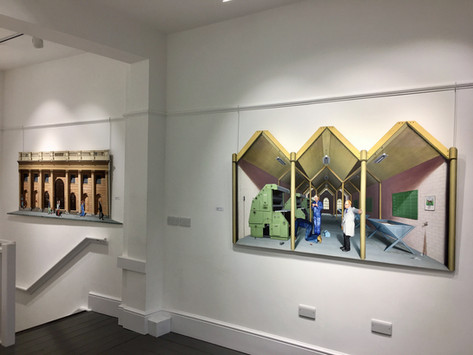 'Paintings of David Redfern 1972-1991' Exhibition, 2018