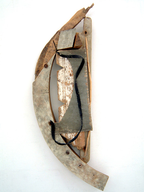 'French Ark', 2004, 112 x 42 x 14 cm, found object assemblage