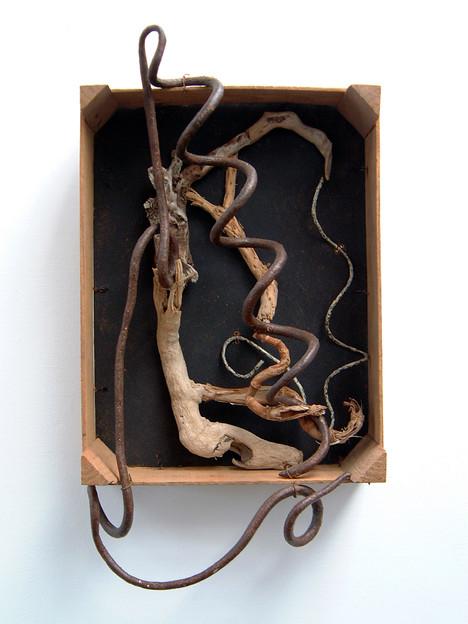 David Redfern (b.1947) 'Dragon Breath' made in 1993, 55.5 x 30.5cm