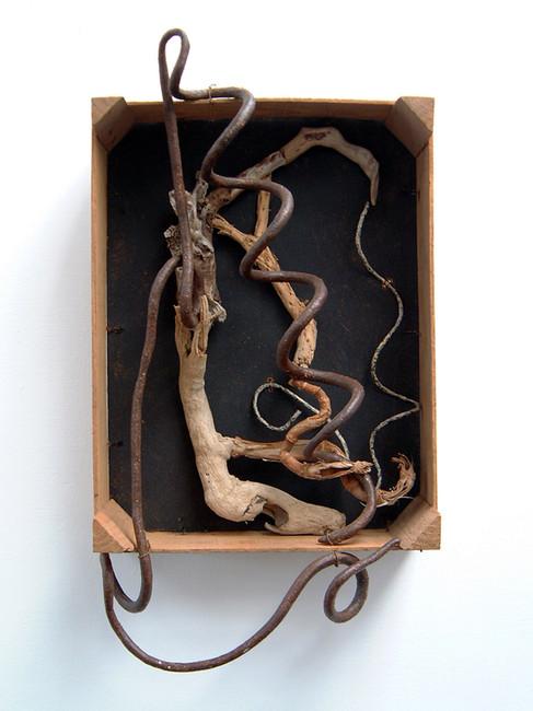 'Dragon Breath', 1993, 55.5 x 30.5 x 15 cm, found object assemblage