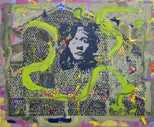 James Faure Walker (b.1948) 'Sheba' 2019, 130 x 158 cm, oil on canvas