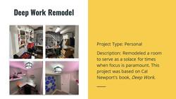Deep Work Room