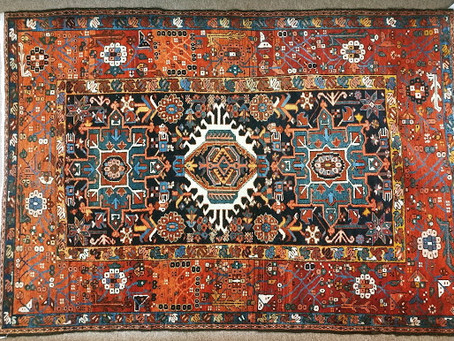 What do I look for when buying an oriental rug?