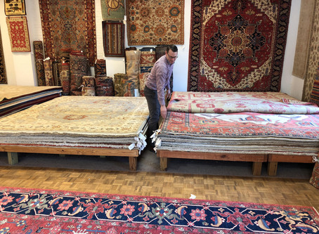 Buying your first oriental rug