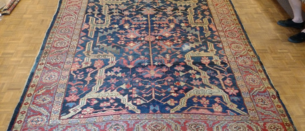 Persian Heriz 8-4x9-8
