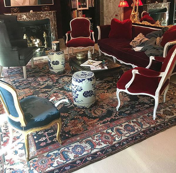 Wonderful Rug in Formal Living Room