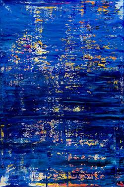 Blau bei Nacht
