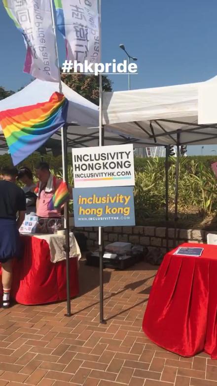 InclusivityHK Instagram Story