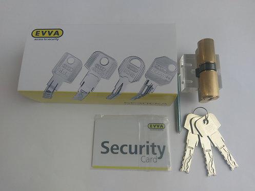 Цилиндр EVVA 4KS 62 мм ключ-ключ 3 ключа МР