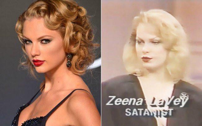 Taylor Swift y su parecido con Zeena LaVey