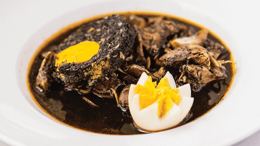 Relleno negro, gastronomía Yucateca