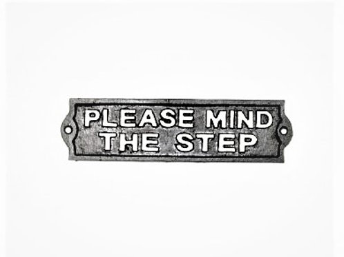 Please Mind The Step Sign