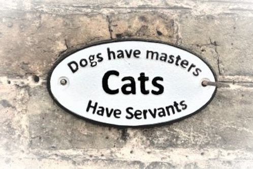 Dogs and Cats Sign