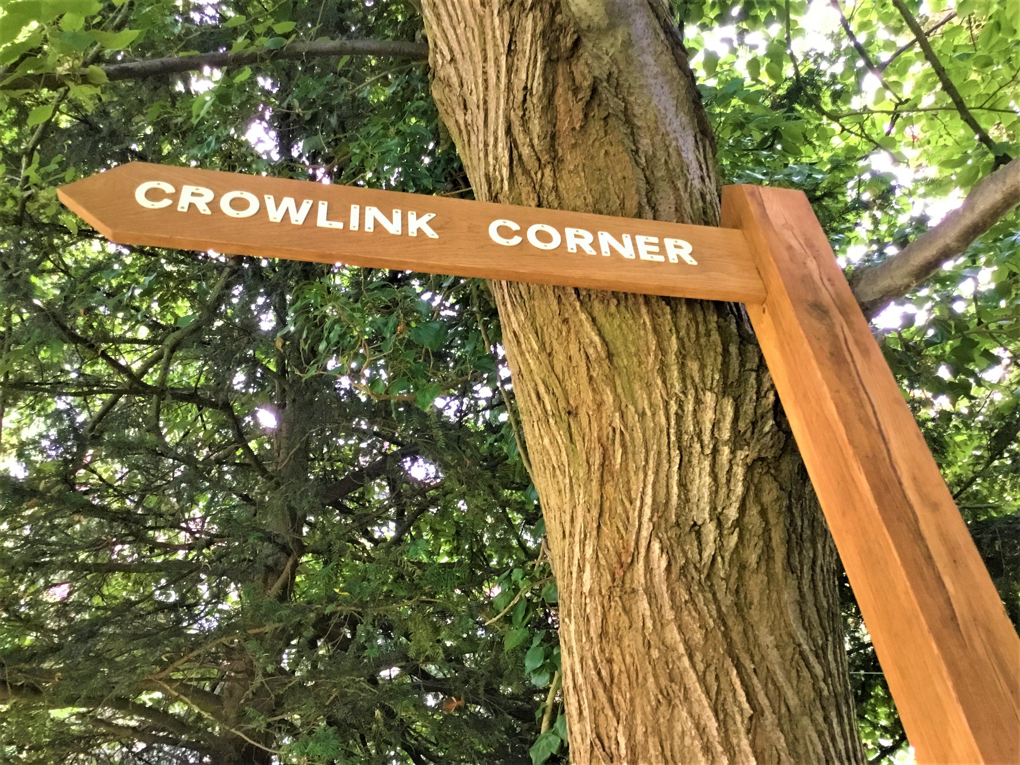 Our Seasoned Oak House Sign 2
