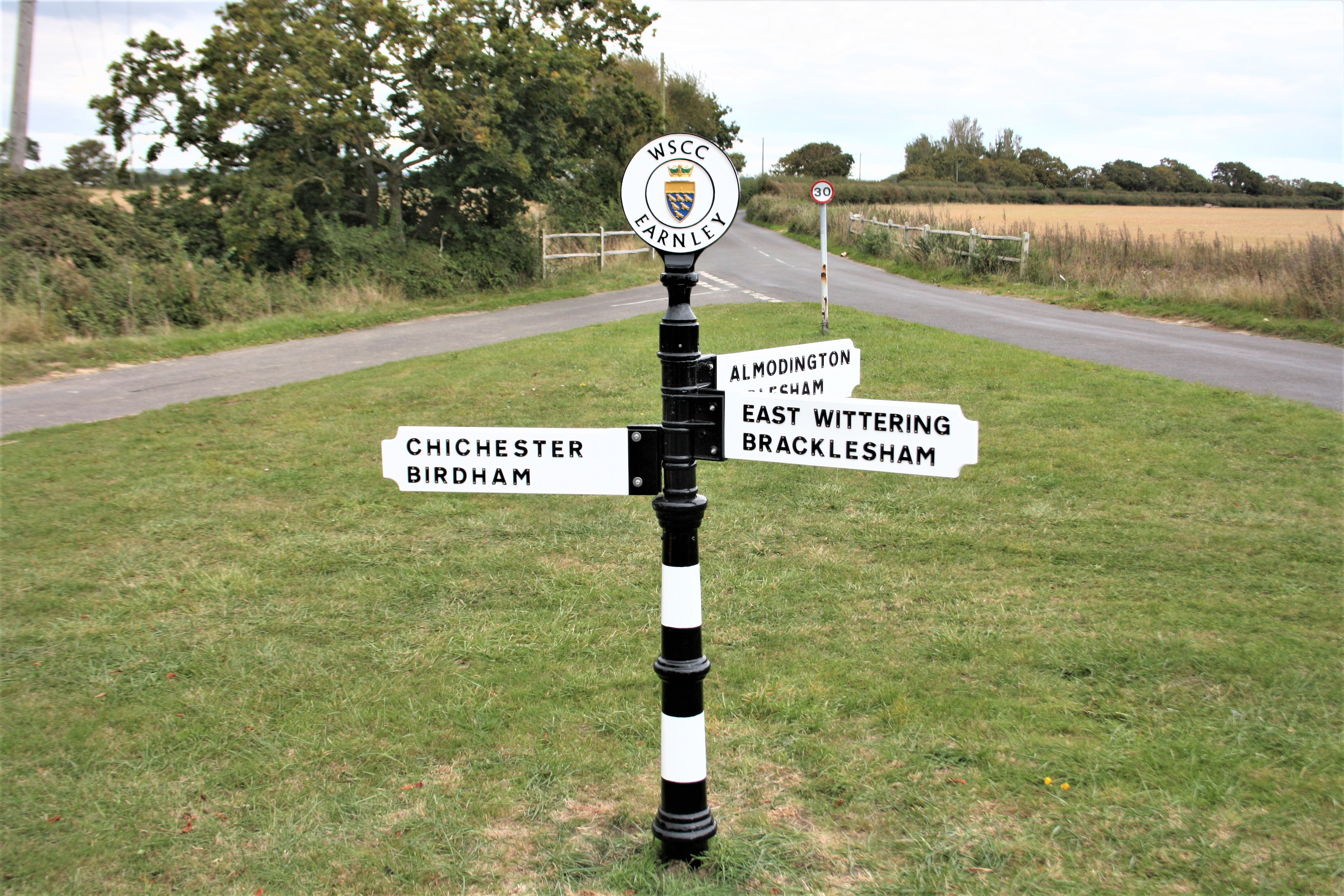 Our West Sussex Finger Post Sign 1