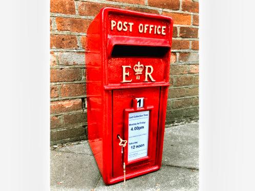 Queen Elizabeth II Royal Mail Letterbox