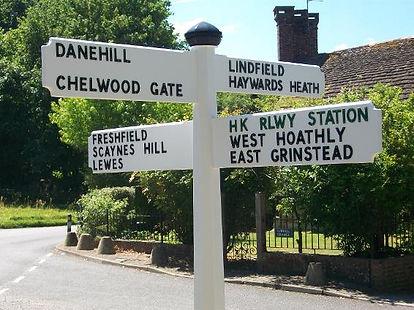 Our Embossed Metal Lettering & Oak Signs