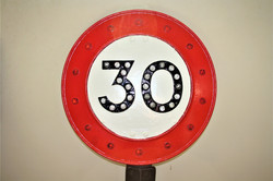 Our Classic 30 MPH Sign 2