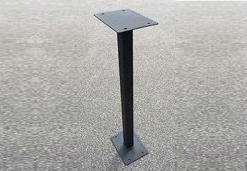 cast iron post box mount