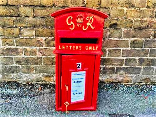 George Rex Cast Metal Letter Box